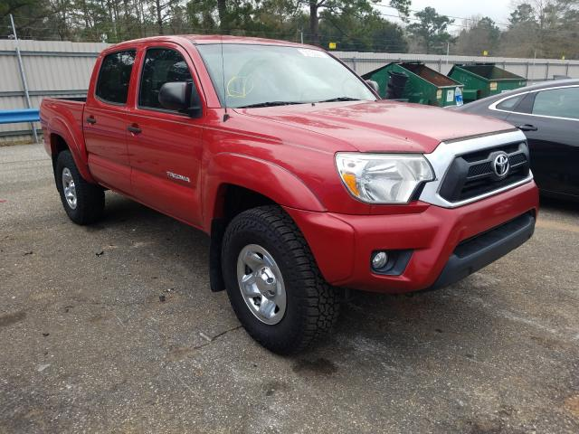 Salvage trucks for sale at Eight Mile, AL auction: 2015 Toyota Tacoma DOU