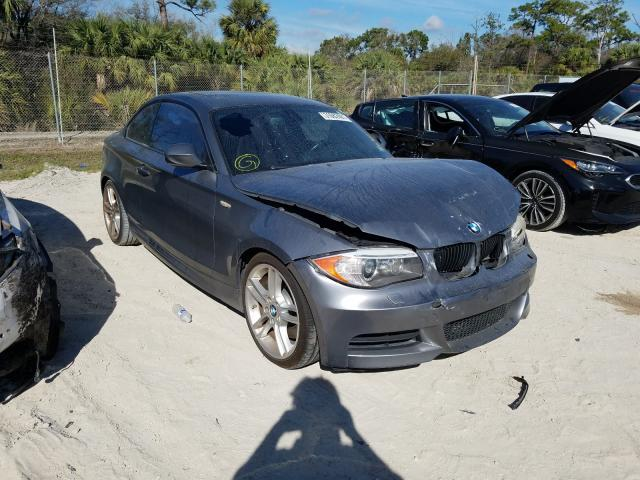 Salvage cars for sale from Copart Fort Pierce, FL: 2012 BMW 135 I
