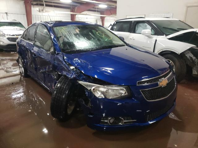 Salvage cars for sale from Copart Lansing, MI: 2013 Chevrolet Cruze LT