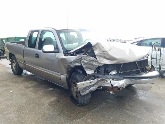 Salvage cars for sale from Copart New Orleans, LA: 2002 Chevrolet Silverado