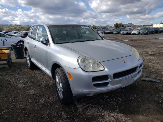 Salvage cars for sale from Copart San Martin, CA: 2005 Porsche Cayenne S