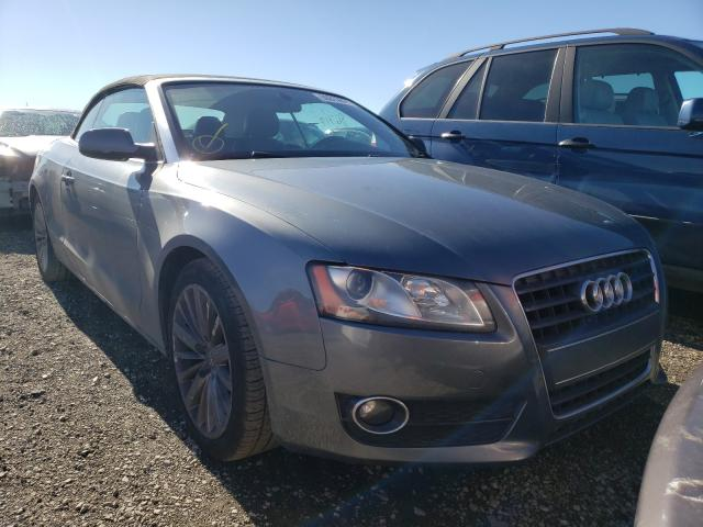 Salvage cars for sale from Copart Vallejo, CA: 2012 Audi A5 Premium