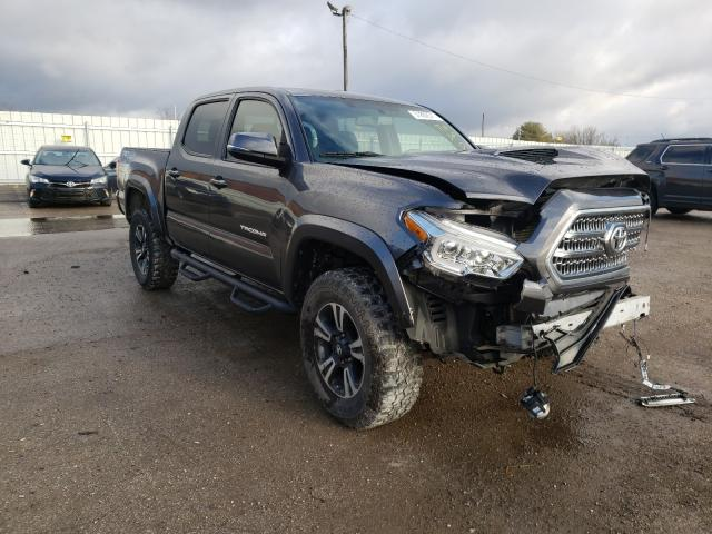 Salvage cars for sale from Copart Lexington, KY: 2016 Toyota Tacoma DOU