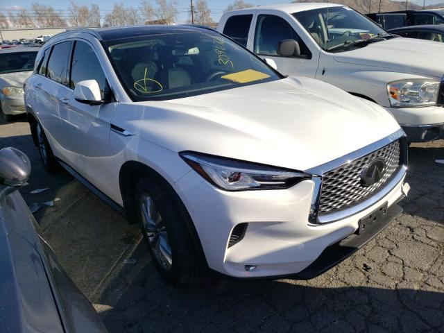 Salvage cars for sale from Copart Colton, CA: 2020 Infiniti QX50 Pure