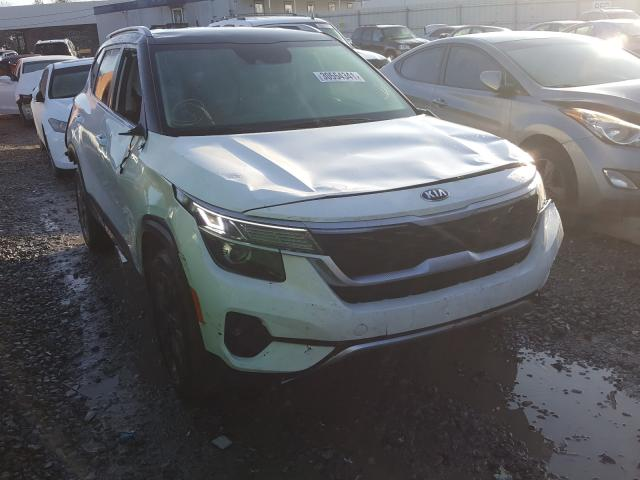 Salvage cars for sale from Copart Hueytown, AL: 2021 KIA Seltos S