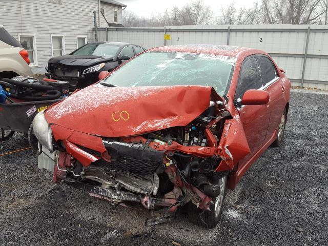из сша 2010 Toyota Corolla Ba 1.8L 2T1BU4EE2AC332439