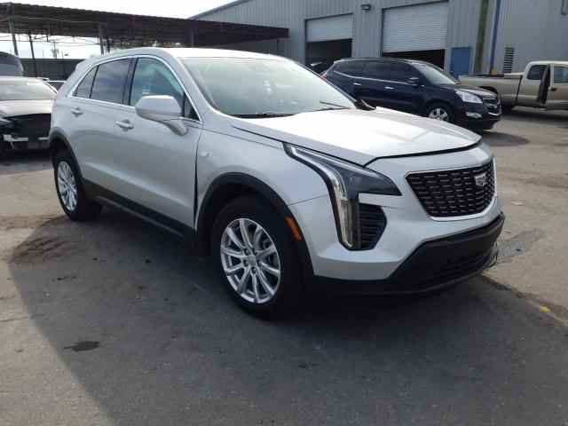 Cadillac XT4 Luxury salvage cars for sale: 2020 Cadillac XT4 Luxury