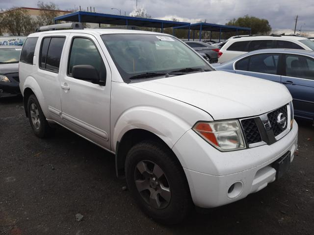 Nissan Pathfinder salvage cars for sale: 2007 Nissan Pathfinder