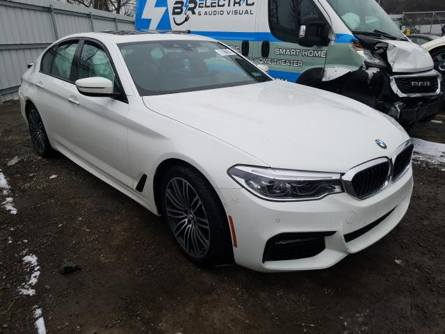 BMW 540 XI salvage cars for sale: 2018 BMW 540 XI