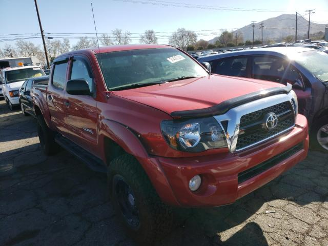 Salvage cars for sale from Copart Colton, CA: 2011 Toyota Tacoma DOU