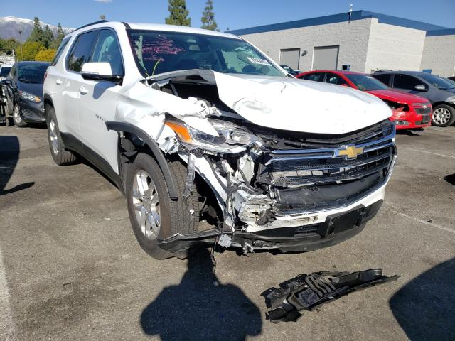 Salvage cars for sale from Copart Rancho Cucamonga, CA: 2020 Chevrolet Traverse L