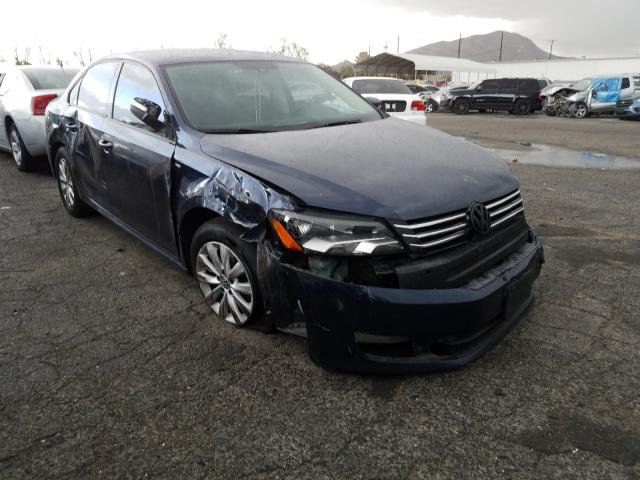 Salvage cars for sale from Copart Colton, CA: 2014 Volkswagen Passat S