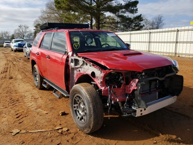 Salvage cars for sale from Copart Longview, TX: 2020 Toyota 4runner SR