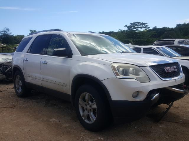 Salvage cars for sale from Copart Kapolei, HI: 2011 GMC Acadia SLE