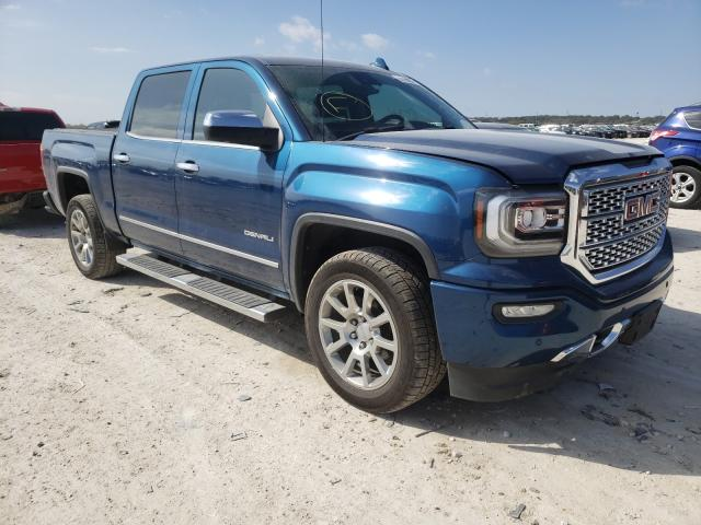 Salvage cars for sale from Copart New Braunfels, TX: 2017 GMC Sierra K15