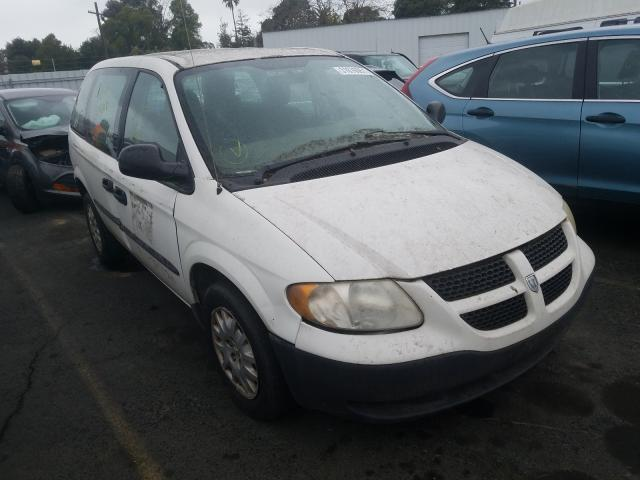 Dodge Caravan salvage cars for sale: 2003 Dodge Caravan