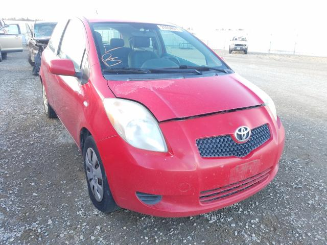 Salvage cars for sale from Copart Anderson, CA: 2007 Toyota Yaris