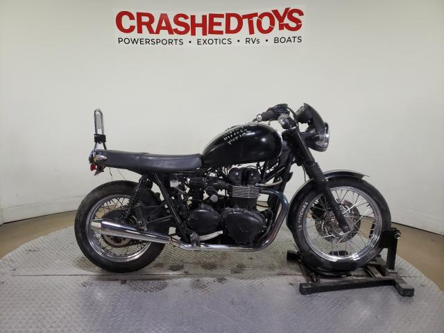 Salvage cars for sale from Copart Dallas, TX: 2011 Triumph Bonneville