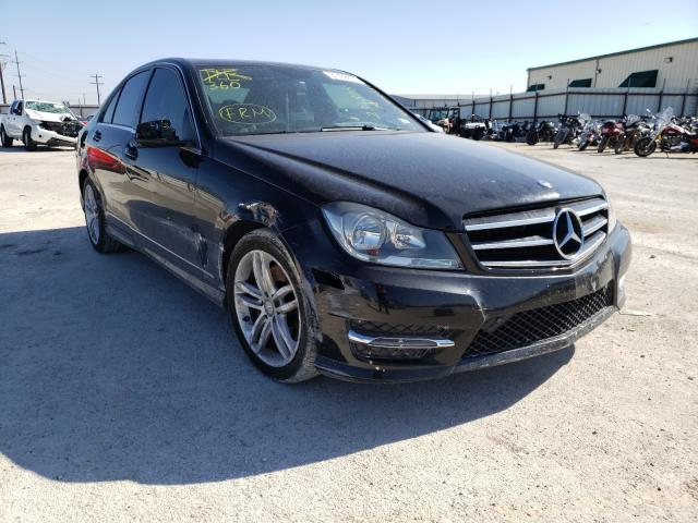 Salvage cars for sale from Copart Haslet, TX: 2014 Mercedes-Benz C 300 4matic