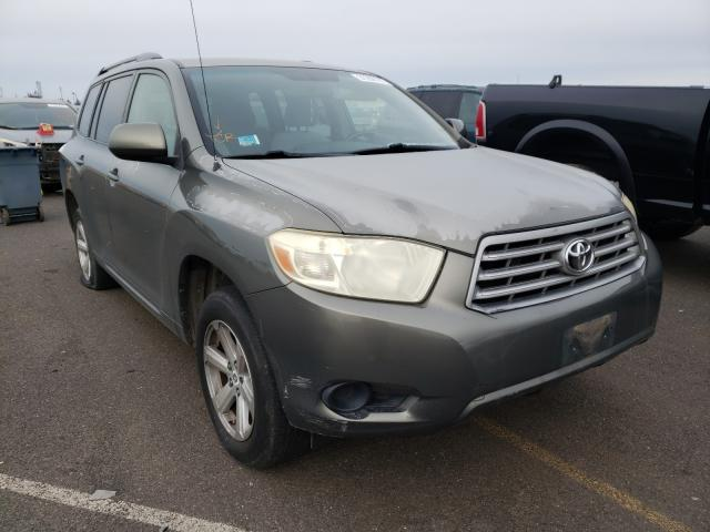 Salvage cars for sale from Copart Sacramento, CA: 2008 Toyota Highlander