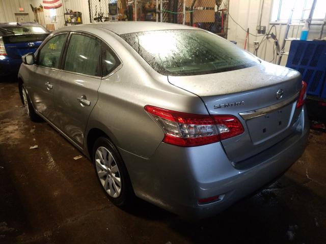 купить 2014 Nissan Sentra S 1.8L 3N1AB7AP8EY336692