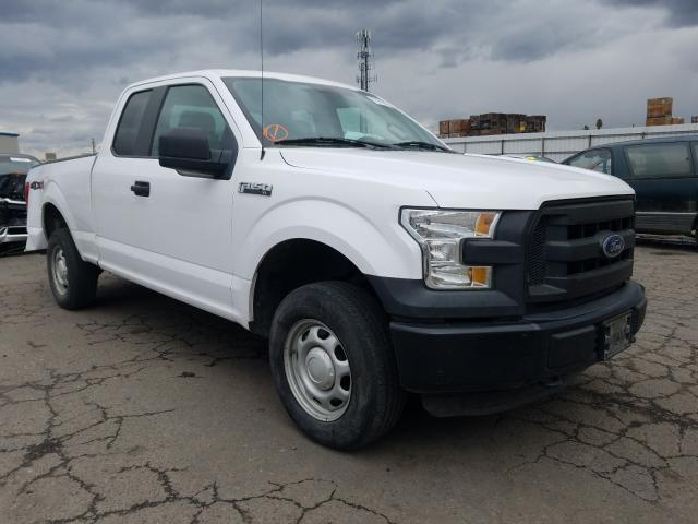 Salvage cars for sale from Copart Fresno, CA: 2015 Ford F150 Super