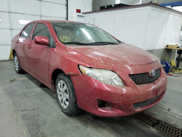 Salvage cars for sale from Copart Pasco, WA: 2009 Toyota Corolla BA