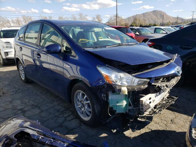 Salvage cars for sale from Copart Colton, CA: 2017 Toyota Prius V