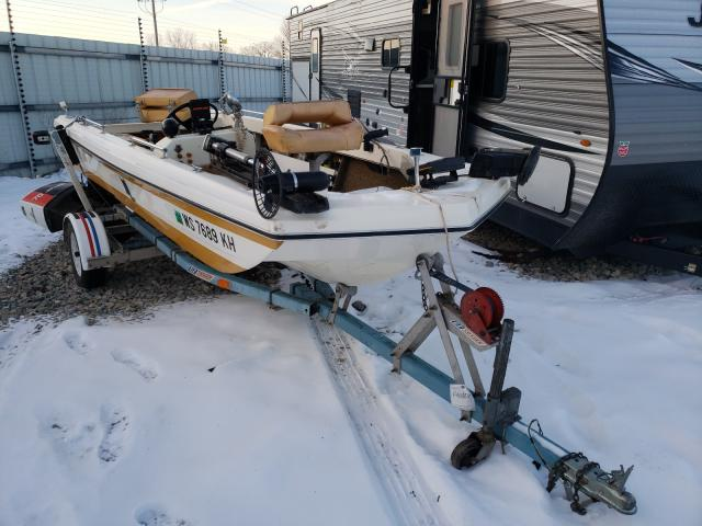 Lund salvage cars for sale: 1978 Lund Boat With Trailer