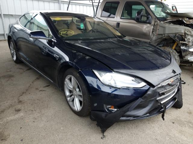 Salvage cars for sale from Copart Martinez, CA: 2015 Tesla Model S 85