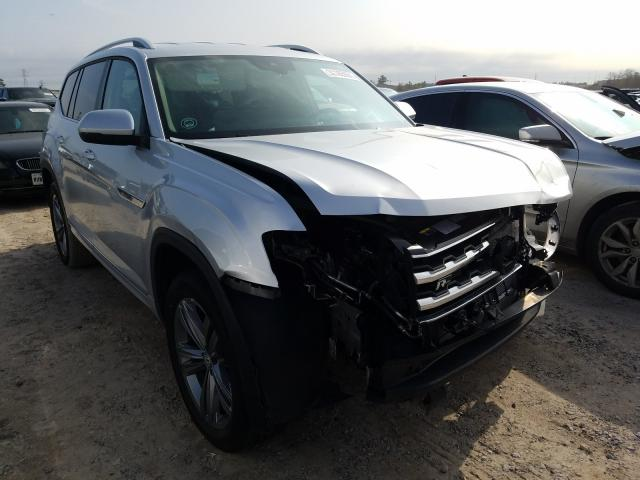 Volkswagen salvage cars for sale: 2019 Volkswagen Atlas SE