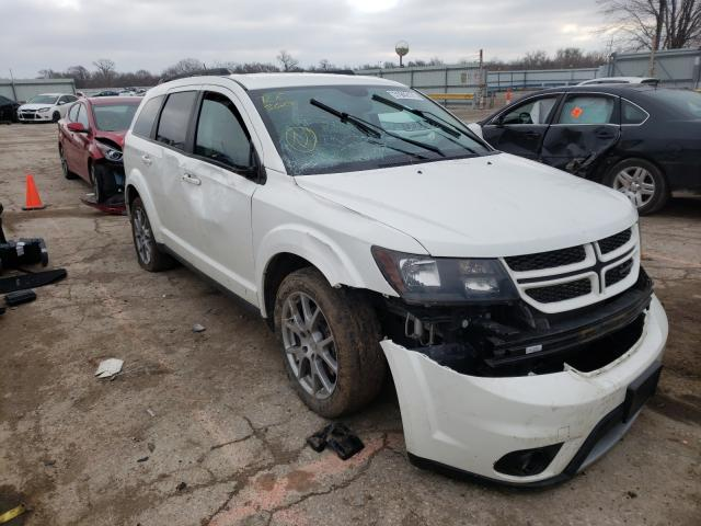Salvage cars for sale from Copart Wichita, KS: 2017 Dodge Journey