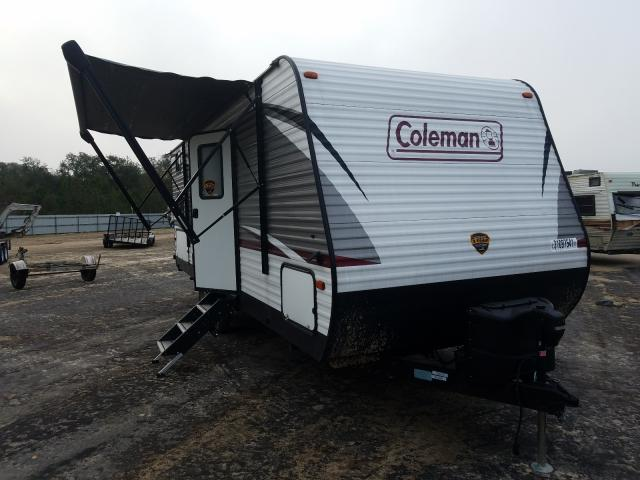 Coleman salvage cars for sale: 2020 Coleman Travel Trailer