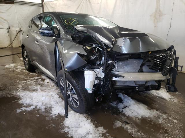 Salvage cars for sale from Copart Ebensburg, PA: 2020 Nissan Murano S