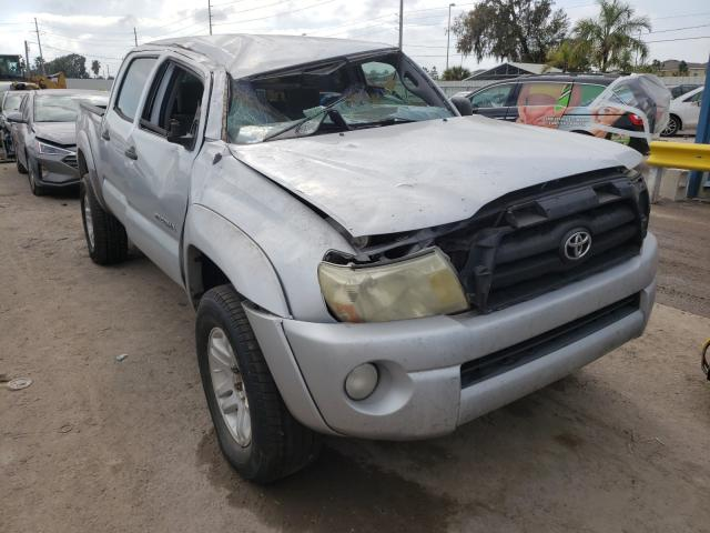 Salvage cars for sale from Copart Riverview, FL: 2006 Toyota Tacoma DOU