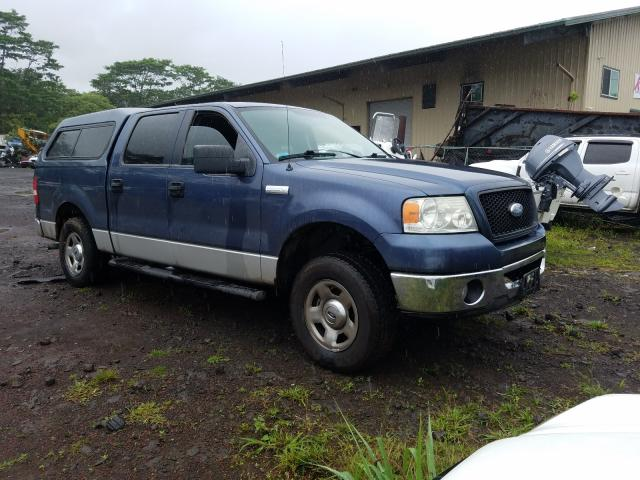 Salvage cars for sale from Copart Kapolei, HI: 2006 Ford F150 Super