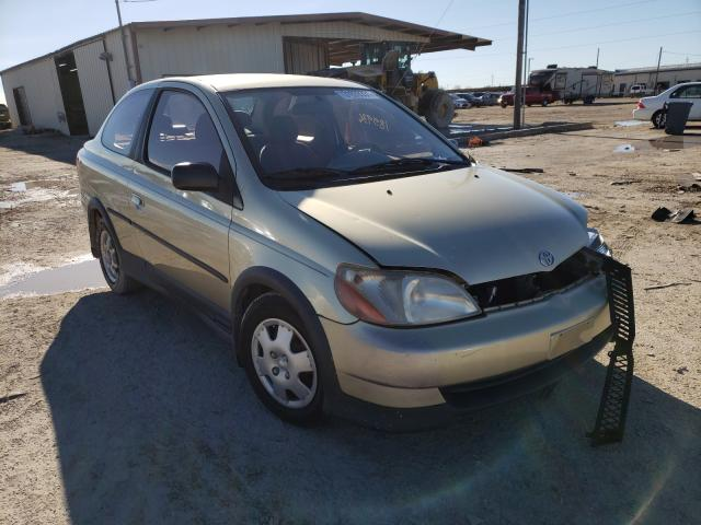 Salvage cars for sale from Copart Temple, TX: 2001 Toyota Echo