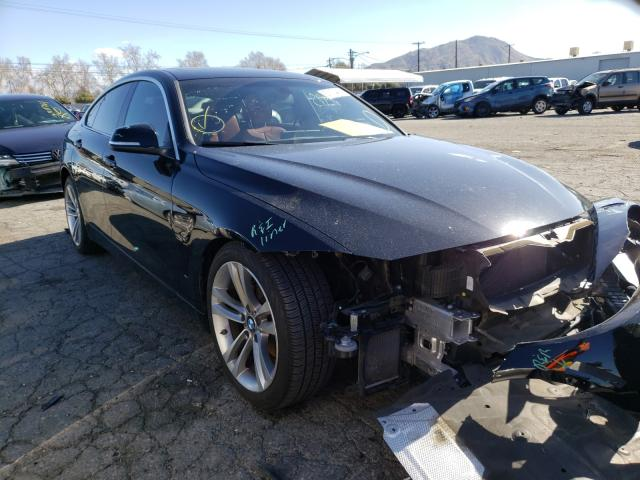 Salvage cars for sale from Copart Colton, CA: 2016 BMW 428 I Gran