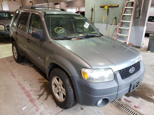 Salvage cars for sale from Copart Sandston, VA: 2005 Ford Escape