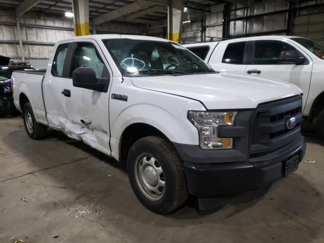 Ford salvage cars for sale: 2017 Ford F150 Super