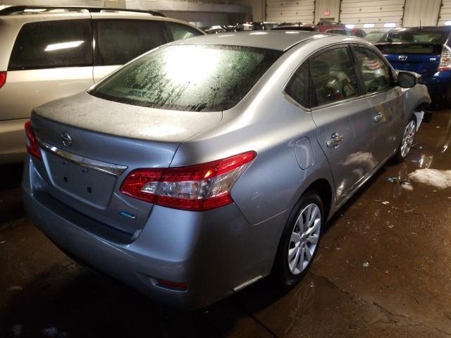 цена в сша 2014 Nissan Sentra S 1.8L 3N1AB7AP8EY336692