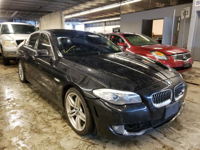 Salvage cars for sale from Copart Wheeling, IL: 2013 BMW 535 XI