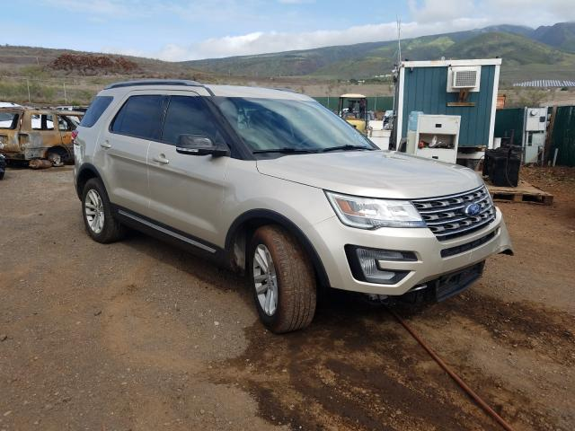 Salvage 2017 FORD EXPLORER - Small image. Lot 31685821