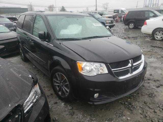 Salvage cars for sale from Copart Windsor, NJ: 2017 Dodge Grand Caravan