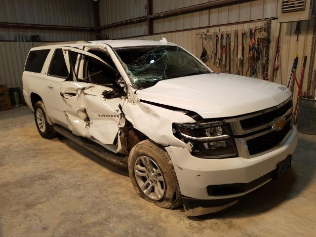 Salvage cars for sale from Copart Abilene, TX: 2016 Chevrolet Suburban C