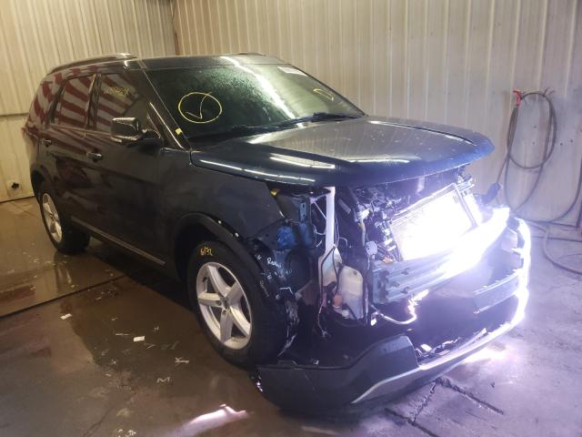 Salvage cars for sale from Copart Avon, MN: 2017 Ford Explorer X