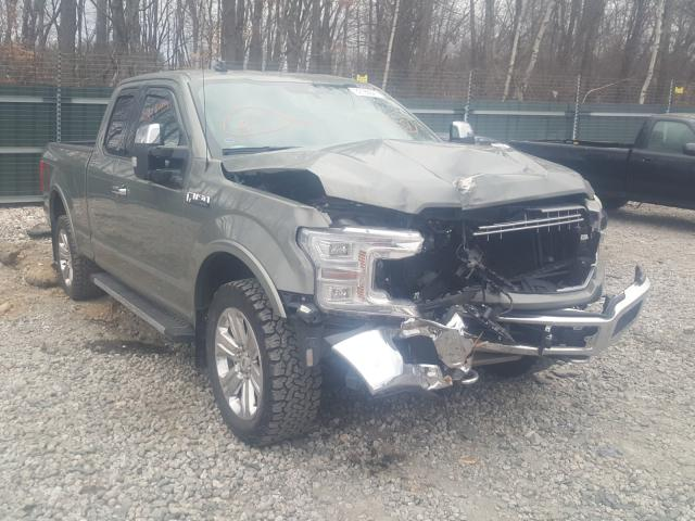 Salvage cars for sale from Copart Candia, NH: 2019 Ford F150 Super