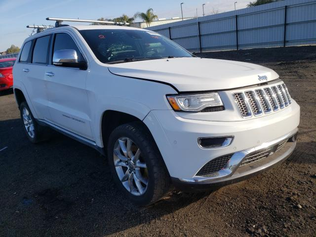 2015 JEEP GRAND CHER - Left Front View Lot 30902691.