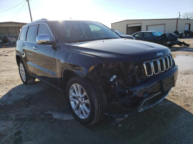 Salvage cars for sale from Copart Temple, TX: 2017 Jeep Grand Cherokee