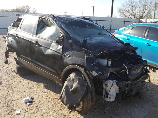 Salvage cars for sale from Copart San Antonio, TX: 2018 Ford Escape SE
